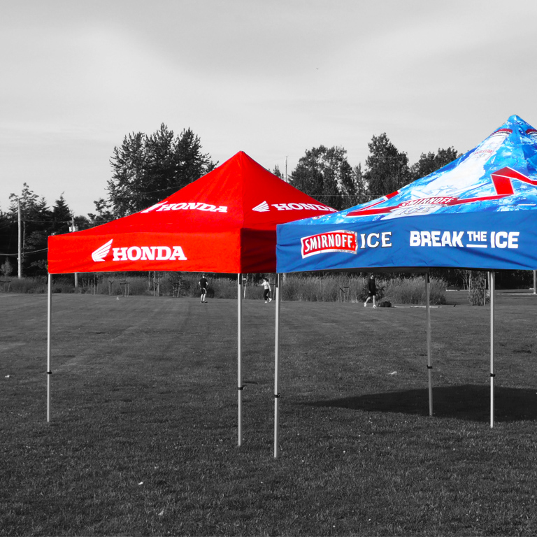 Branded Gazebos Expand A Sign