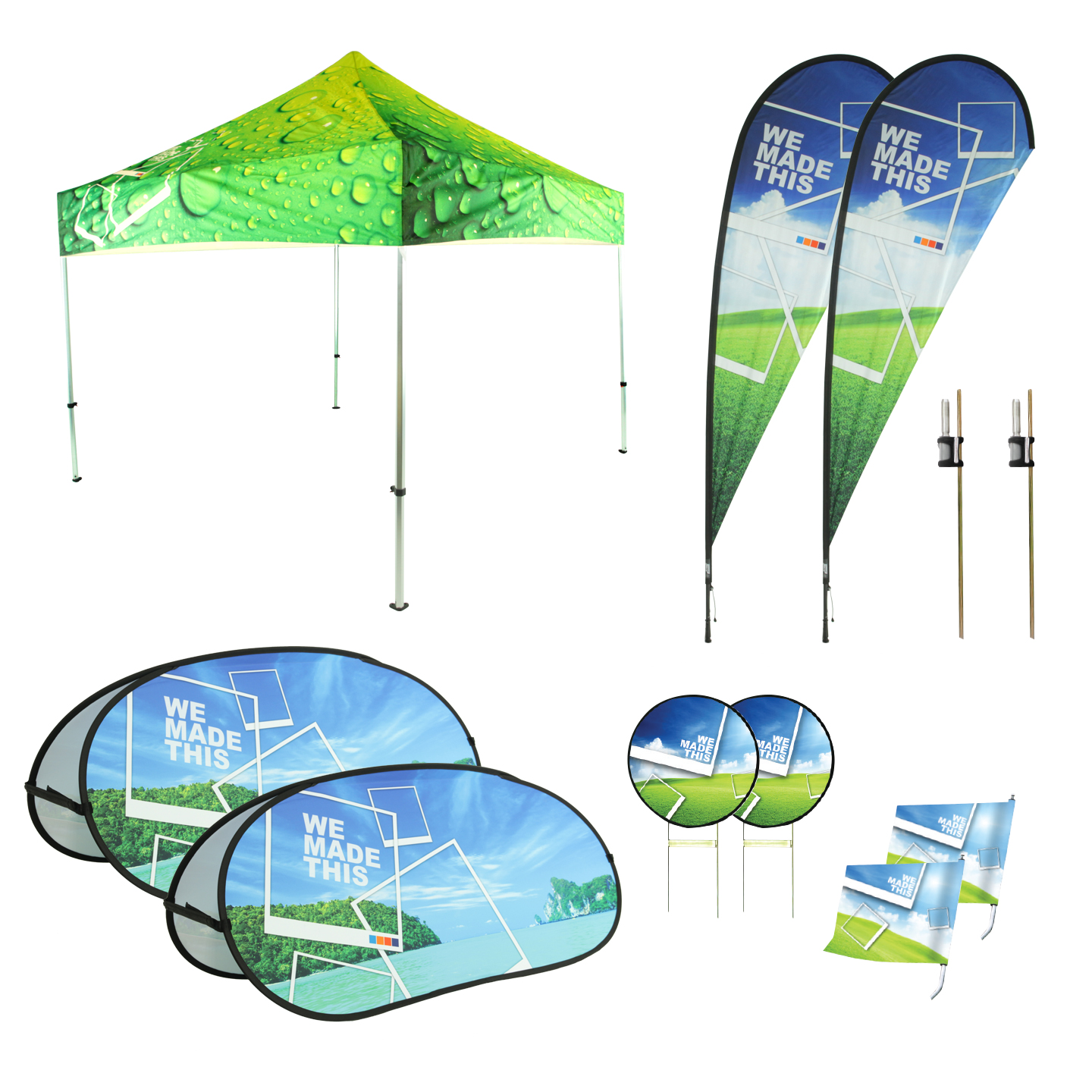Stackable Deck Chairs Golf Kit - Expand A Sign