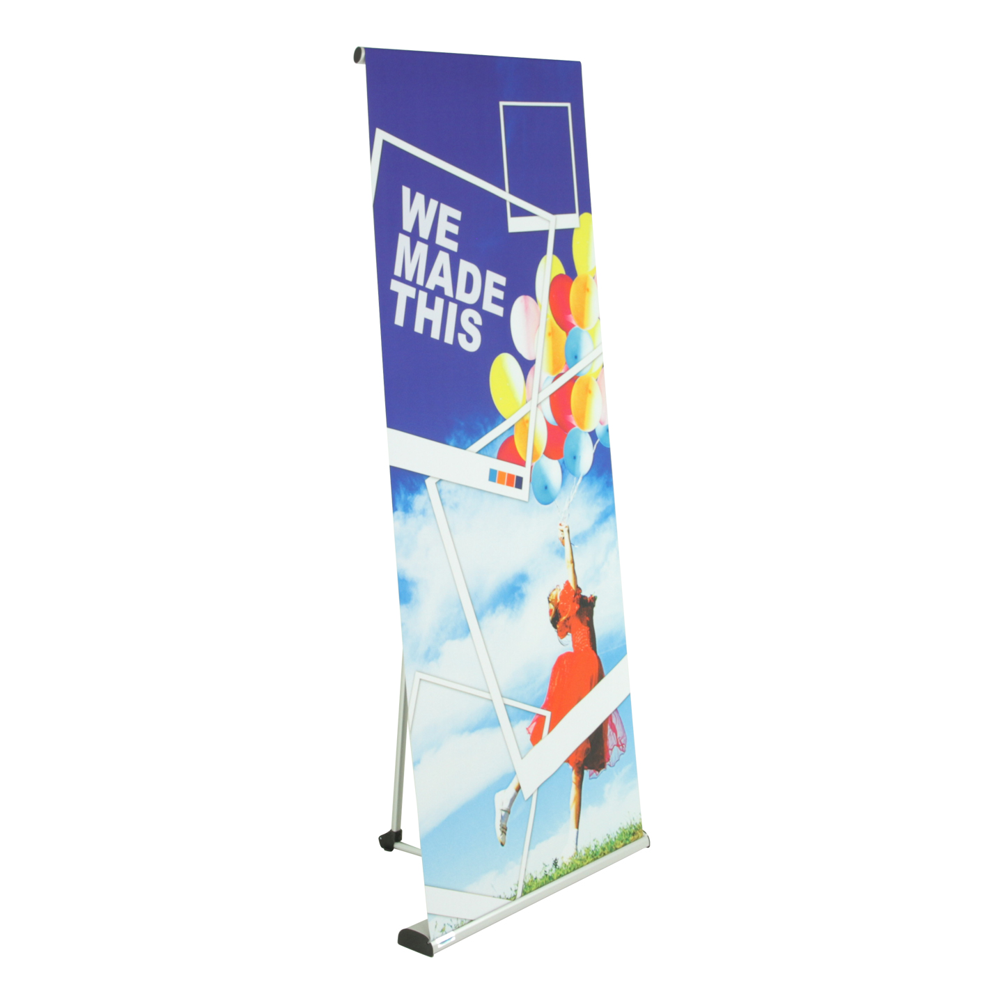 pull up banners pop up banners ex t by expand a sign. Black Bedroom Furniture Sets. Home Design Ideas